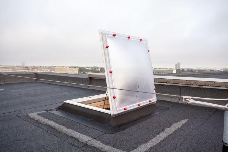 BIK lichtkoepel op het dak