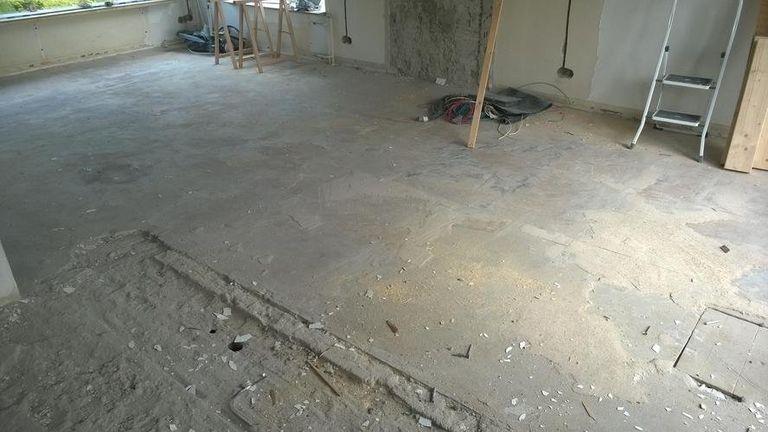 Vloer verwijderen: kosten werkspot
