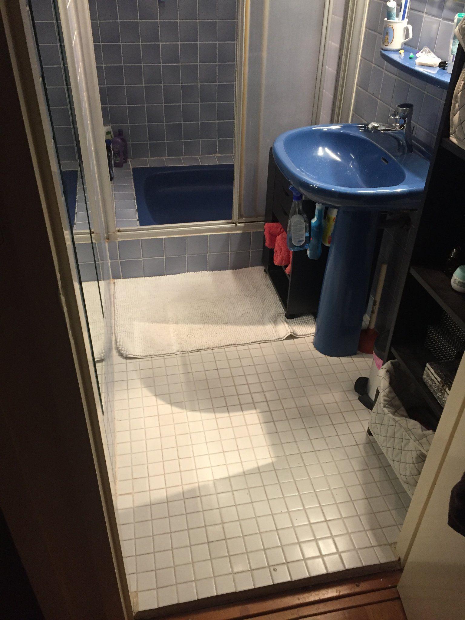 Aanleggen Douchegoot Badkamervloer Opnieuw Betegelen Werkspot